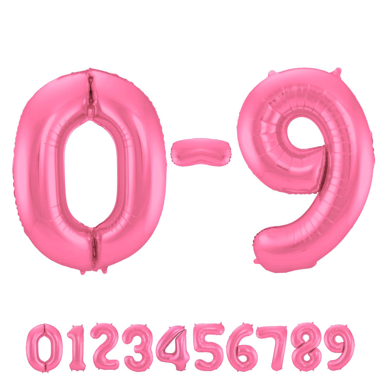 Matte Pink Number 7