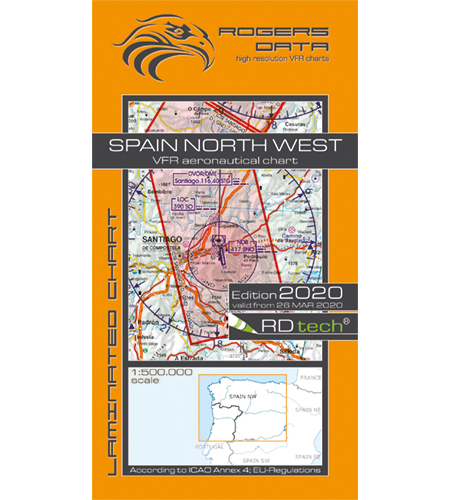 Spanien nordväst ICAO