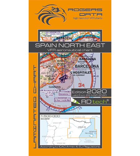 Spanien nordöst ICAO