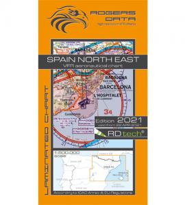 Spanien nordöst ICAO 2021