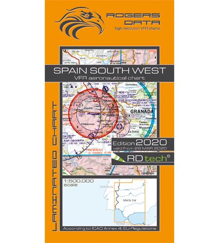 Spanien sydväst ICAO