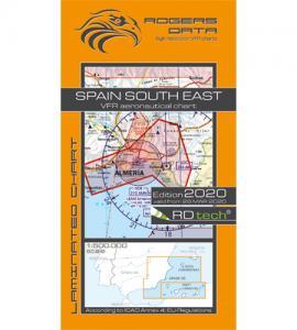 Spanien sydöst ICAO