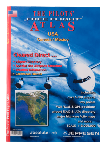PILOTS FREE FLIGHT ATLAS USA Canada/Mexico REA 50%