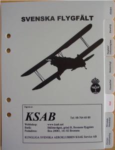 Svenska Flygfält Ämnesregister