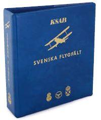 Svenska Flygfält  D-RINGPÄRM