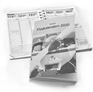 Kalender 2020, enbart innehåll