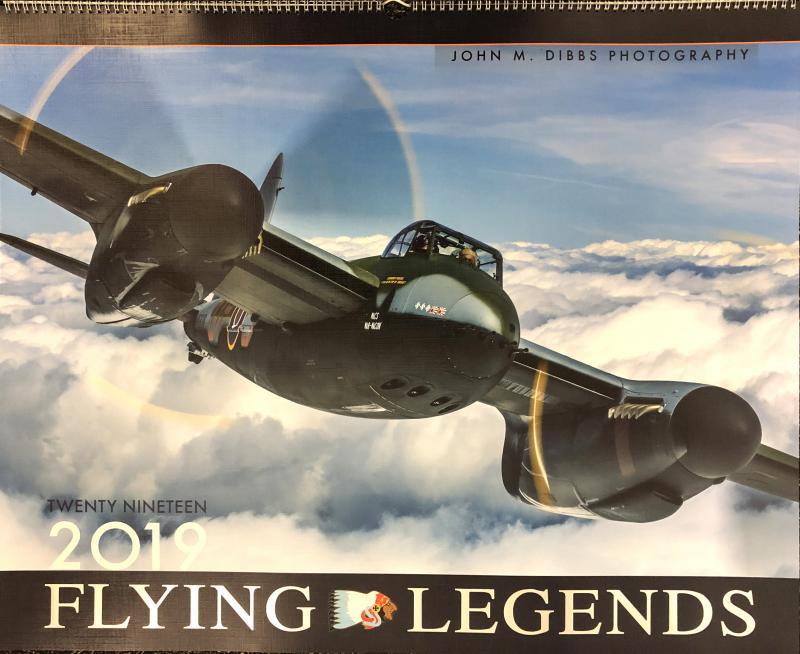 Flygande Legender Kalender 2019