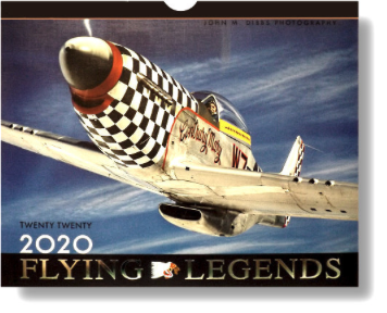 Flying Legends calendar 2019