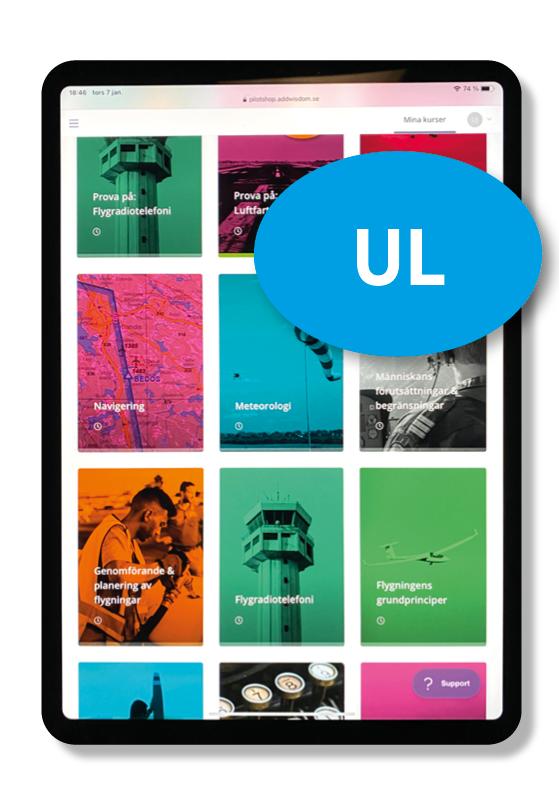 Digitalt teoripaket UL
