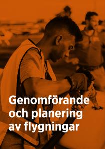 Genomförande & planering av flygningar - digital kurs