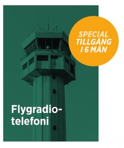 Flygradiotelefoni - digital kurs under 6 månader