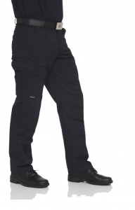 Trousers, men, dark blue