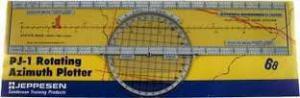 Jeppsen PJ-1 Azimuth Plotter