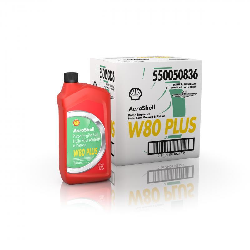 AeroShell Oil W80 PLUS, vinterolja (6 st)