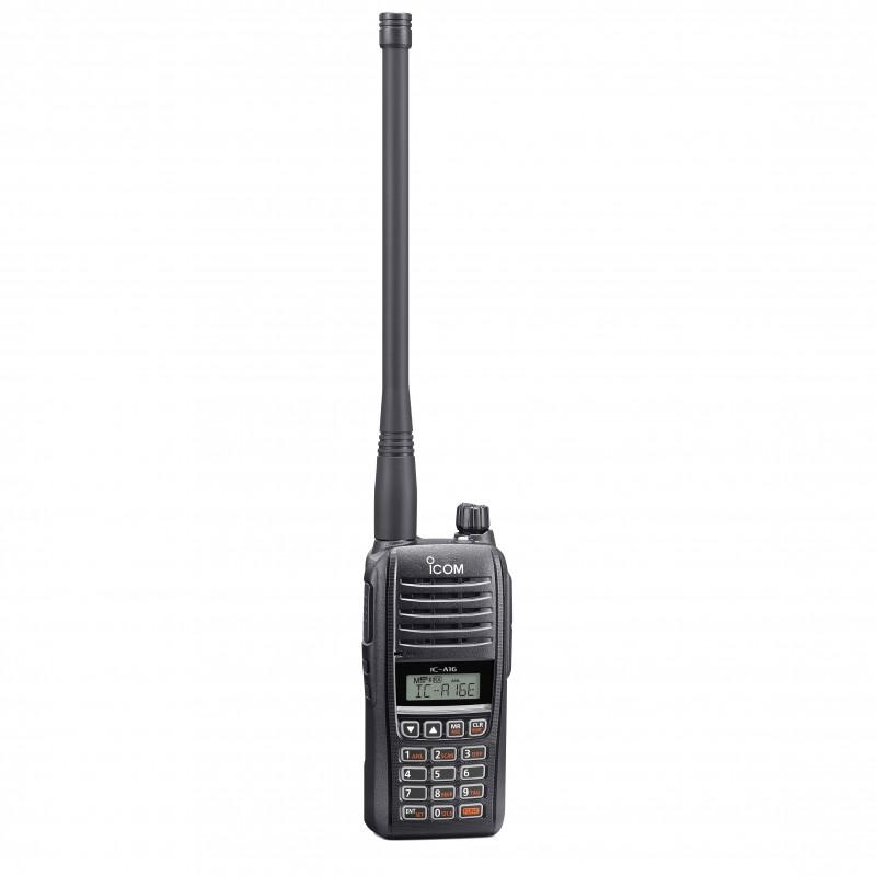 ICOM IC-A16E Flygradio, med Bluetooth