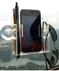 Suction Cup Holding for Smartphones, Bluetooth GPS and Pens