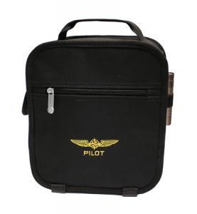 Pilot Headset Väska Svart