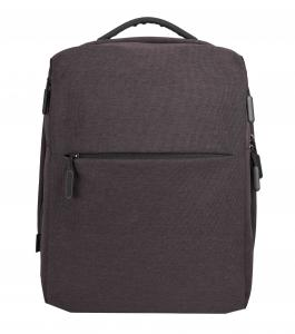 Computer backpack, gray.
