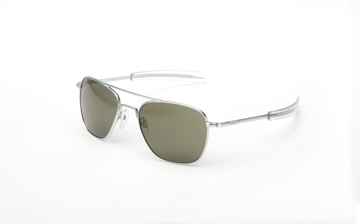 RANDOLPH AVIATOR MATTE CHROME