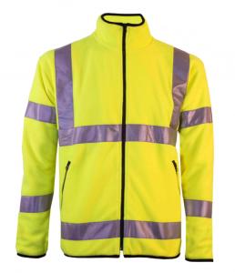 Hi-Vis Micro fleece jacket yellow