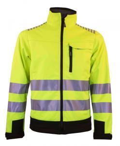 Hi-Vis Shell jacket yellow
