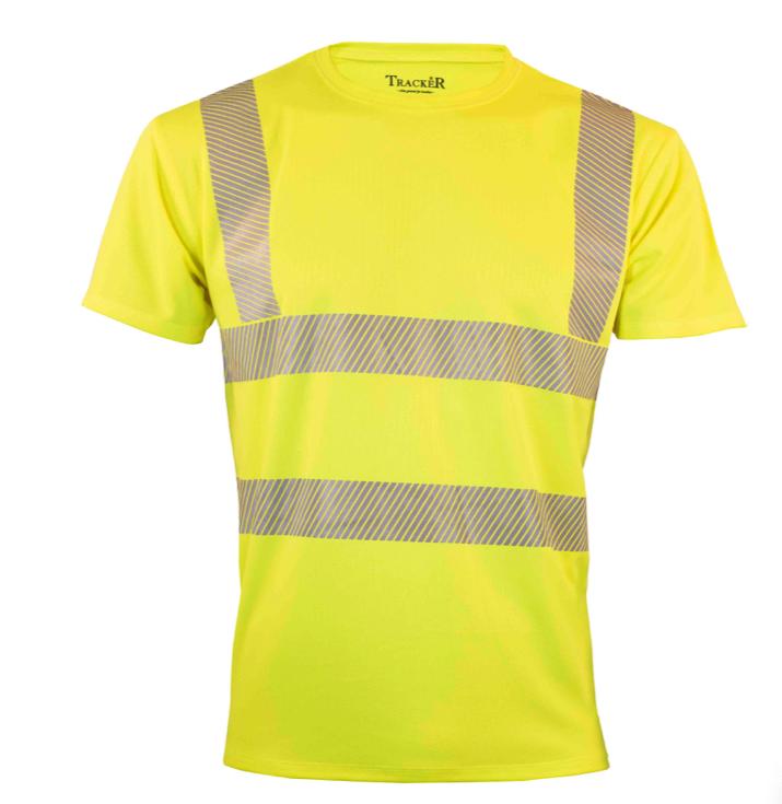 Hi-Vis CoolDry t-shirt gul