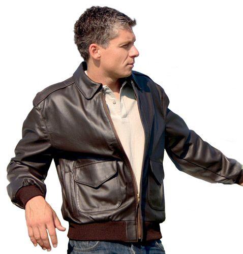 Usaf a2 leather jacket