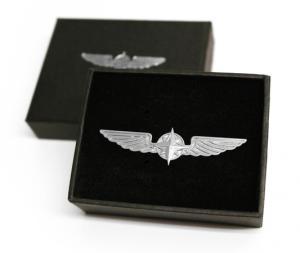 Pilot Wings Silver 5 cm