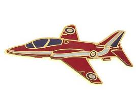 RED ARROW PIN  EMALJ