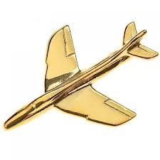 HAWKER HUNTER PIN GULD