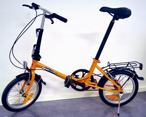 Cykel, hopfällbar
