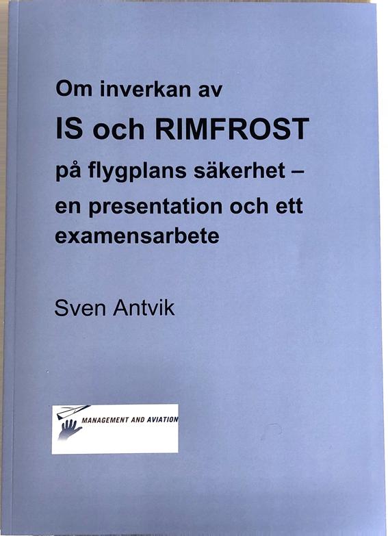 Om inverkan av is och rimfrost