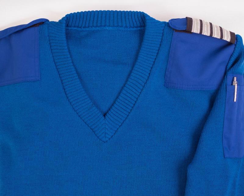 Uniformströja, mellanblå