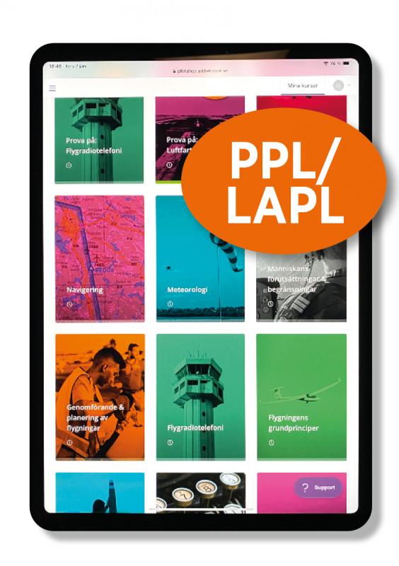 Digitalt teoripaket PPL/LAPL