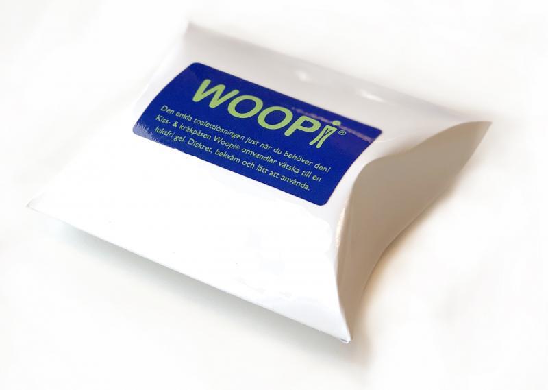Kisspåse Gel - WOOPI
