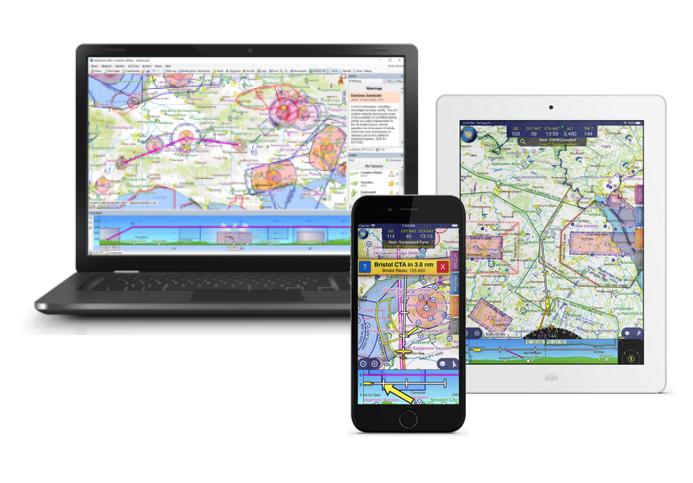 Skydemon Flight Planning And GPS Navigation