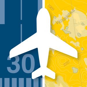 Swedish Airfields, Svenska Flygfält APP