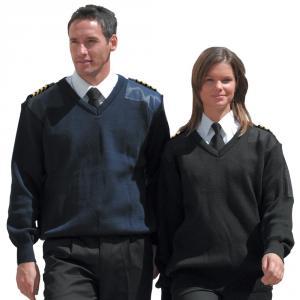 Uniformströja, blå
