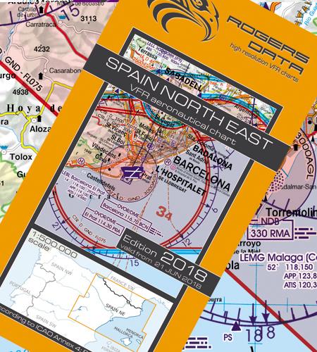 Spanien nord öst ICAO , 2019