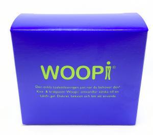 Kiss- och kräkpåse Gel - WOOPI, 2-pack