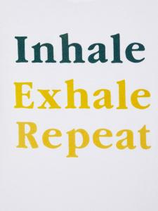 NAME IT INHALE EXHALE REPEAT T-SHIRT