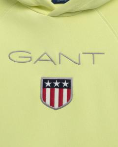 GANT SHIELD LOGO SWEAT HOODTRÖJA