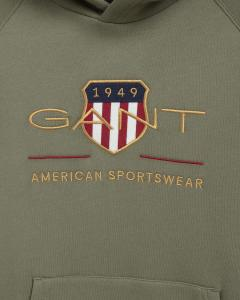 GANT ARCHIVE SHIELD HOODTRÖJA
