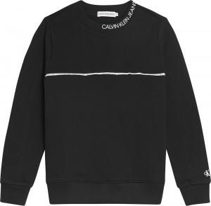 CALVIN KLEIN LOGO PIPING SWEATSHIRT