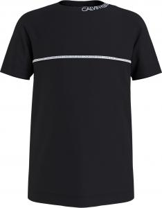 CALVIN KLEIN LOGO PIPING FITTED T-SHIRT