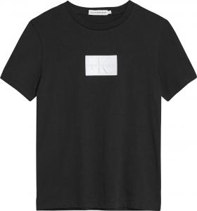 CALVIN KLEIN REFLECTIVE CK BADGE T-SHIRT