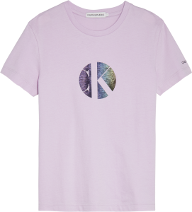 CALVIN KLEIN CIRCLE MONOGRAM T-SHIRT