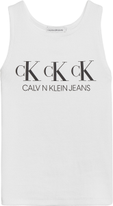 CALVIN KLEIN REPEAT SLEEVELESS LINNE