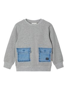 NAME IT SWEATSHIRT MED JEANSFICKOR