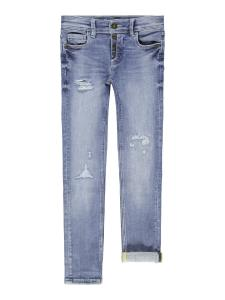 NAME IT PETE SKINNY JEANS MED SLITNINGAR